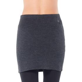Icebreaker Affinity Skirt Women Jet Heather/Black